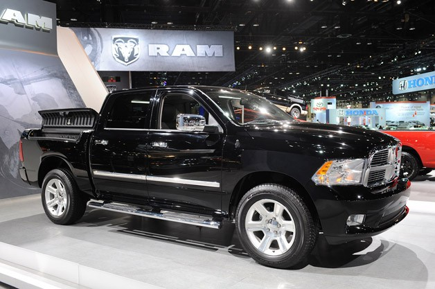 2012 Ram 1500 Laramie Limited - front three-quarter view at Chicago Auto Show