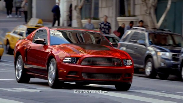 2013 Ford Mustang Ad