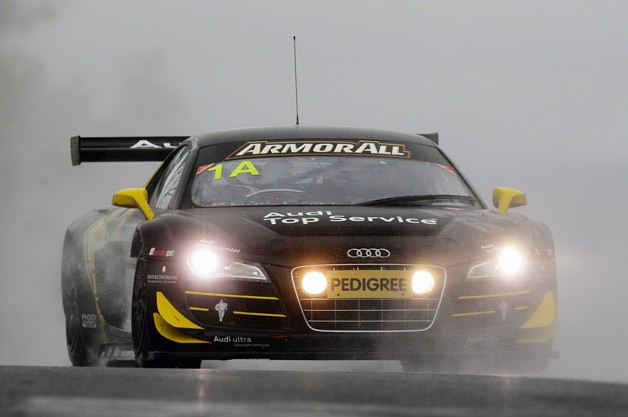 Audi R8 LMS at the 2012 Bathurst 12 Hour