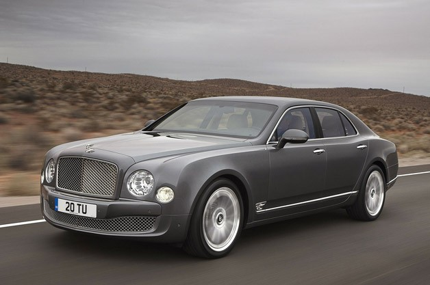 2013 Bentley Mulsanne Mulliner Driving Specification in motion