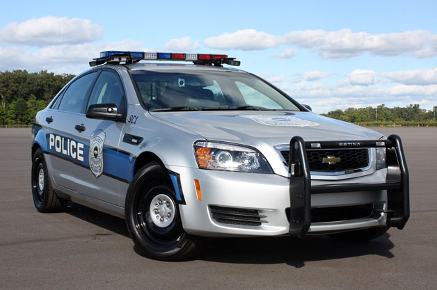 2012 Chevrolet Caprice Patrol Vehicle