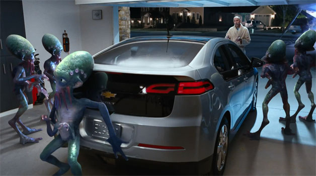 Chevrolet Volt Super Bowl Ad