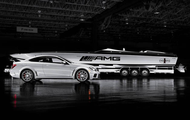 Cigaretta 50 Marauder AMG Black Series