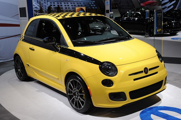 2012 Fiat 500 Stinger