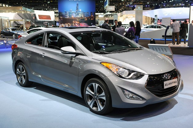 2013 Hyundai Elantra Coupe serves up space and style in equal measure