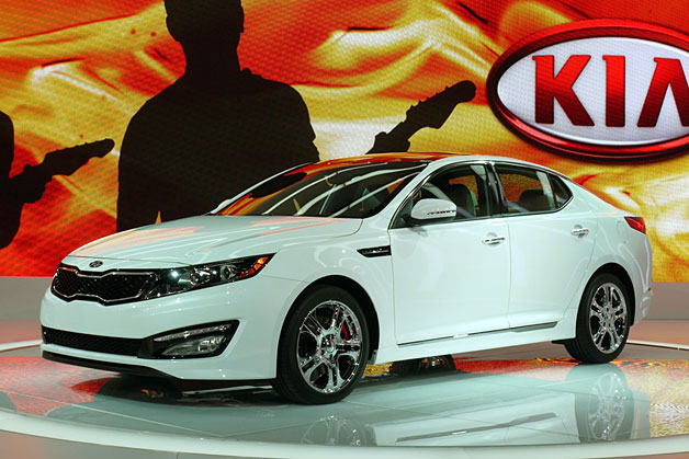 2013 Kia Optima SX Limited - revealed live at 2012 Chicago Auto Show