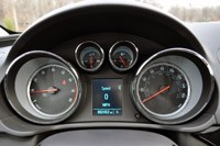 2012 Buick Regal GS gauges