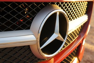 2012 Mercedes-Benz SLK350 grille