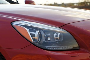 2012 Mercedes-Benz SLK350 headlight