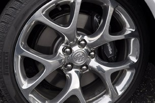 2012 Buick Regal GS wheel