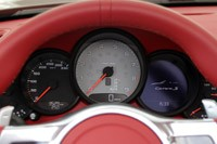 2012 Porsche 911 Cabriolet gauges