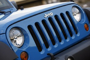 2012 Jeep Wrangler Sport grille