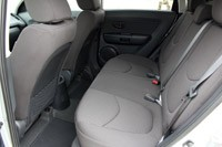2012 Kia Soul Base 1.6L Eco rear seats