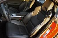 2012 Mercedes-Benz SLK350 seats