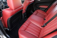 2012 Chrysler 300 S rear seats