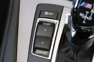 2012 BMW M550d xDrive suspension settings