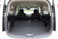 2012 Kia Soul Base 1.6L Eco rear cargo area