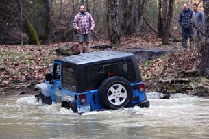 2012 Jeep Wrangler Sport off-road