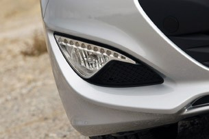 2013 Hyundai Genesis Coupe fog light