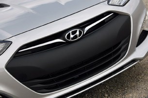 2013 Hyundai Genesis Coupe grille