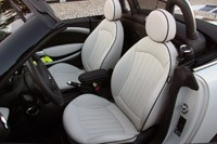 2012 Mini Cooper S Roadster seats