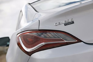 2013 Hyundai Genesis Coupe taillight