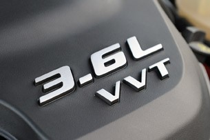 2012 Chrysler 300 S engine detail