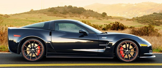 2012 Chevrolet Corvette ZR1 side view