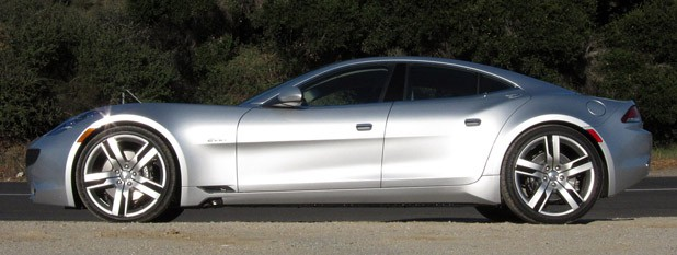 2012 Fisker Karma side view