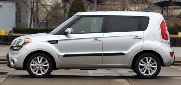 2012 Kia Soul Base 1.6L Eco side view