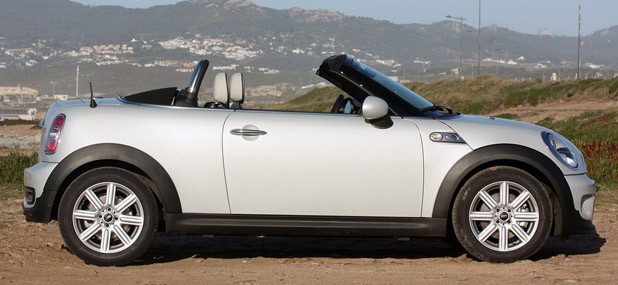 2012 Mini Cooper S Roadster side view
