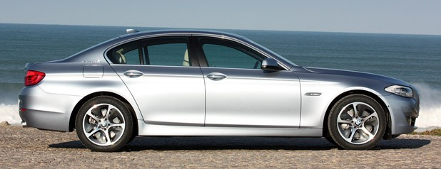 2013 BMW ActiveHybrid 5 side view