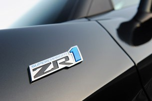 2012 Chevrolet Corvette ZR1 badge