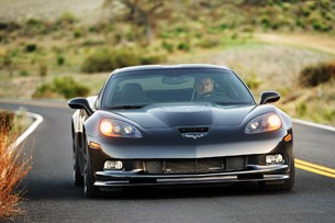 2012 Chevrolet Corvette ZR1 driving