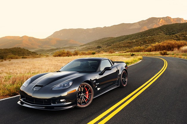 2012 Chevrolet Corvette ZR1 front 3/4 view