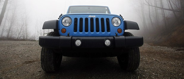 2012 Jeep Wrangler Sport front view