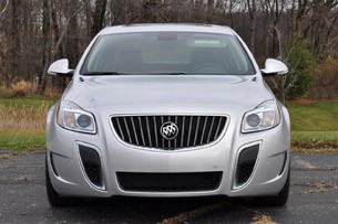 2012 Buick Regal GS front view