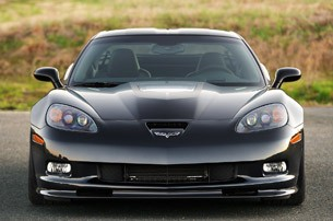 2012 Chevrolet Corvette ZR1 front view