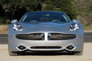 2012 Fisker Karma front view