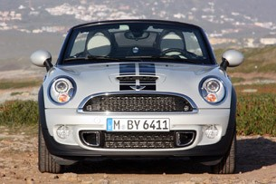 2012 Mini Cooper S Roadster front view