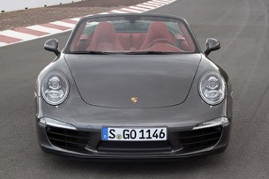 2012 Porsche 911 Cabriolet front view