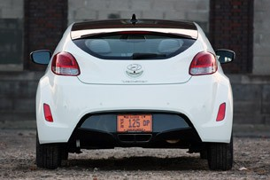 2012 Hyundai Veloster rear view