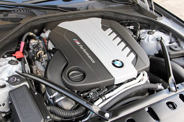 2012 BMW M550d xDrive engine