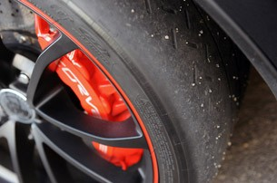 2012 Chevrolet Corvette ZR1 tire