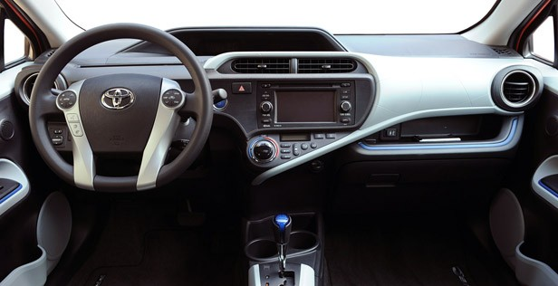 2012 Toyota Prius C interior