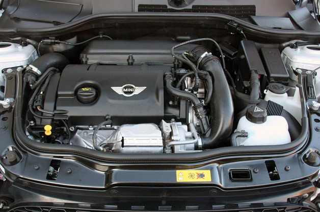 2012 Mini Cooper S Roadster engine