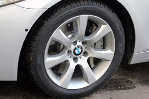 2012 BMW M550d xDrive wheel