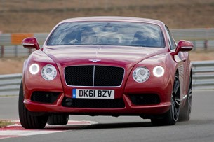 2013 Bentley Continental GT V8 on track