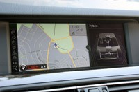 2013 BMW ActiveHybrid 5 navigation system