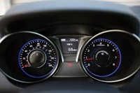 2013 Hyundai Genesis Coupe gauges